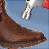 All Mens Western Protective Toe