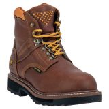 "Dan Post Gripper Zipper 6"" Lace Up Work Boots DP66404"