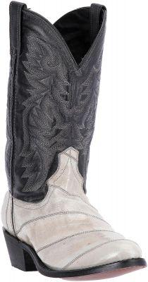 a23d0dbe84c Laredo Men's Marshall Eel Exotic Boots Black 6737