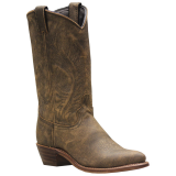 "Abilene 9059 Women's 11"" Distressed Tooled Feather Western Boots"