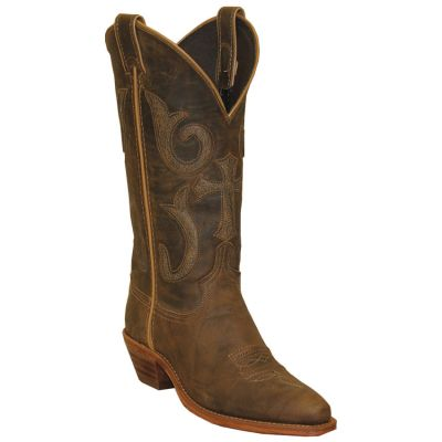 "Abilene 9222 Women's 12"" Distressed Crunched Western Boots"