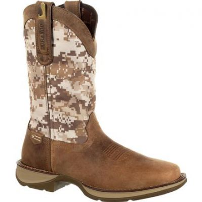 Rebel™ by Durango® Desert Camo Pull-on Western Boot DDB0166