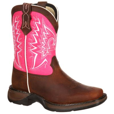 Durango Big Kid Let Love Fly Western Boots DWBT094