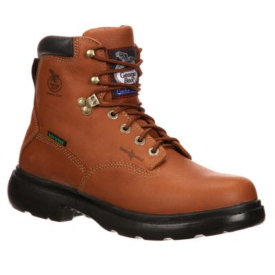 "Georgia Men's 6"" Waterproof Flexpoint Lace-Up Work Boots G6503"