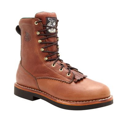 "Georgia Men's 8"" Lacer Work Boots G7014"