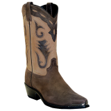 Sage Boots 4740 Men's Two-Tone Cutout Western Boots